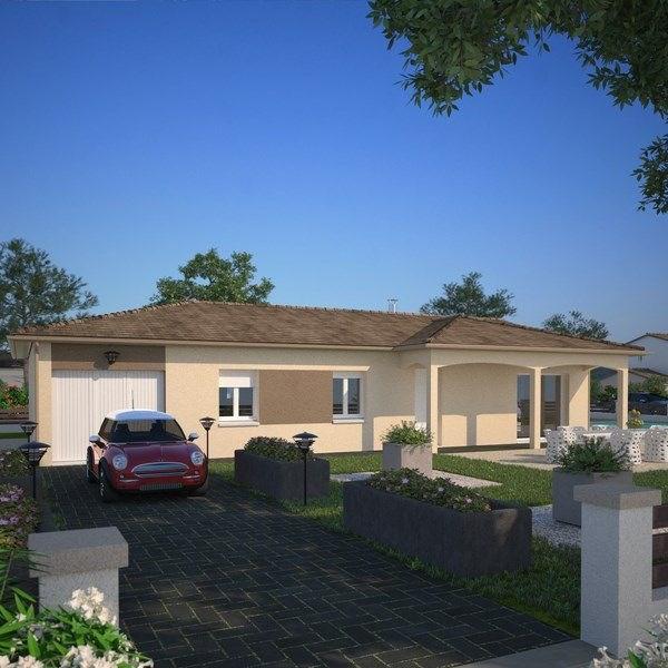 Modèle de maison  Rhône par MAISONS FRANCE CONFORT
