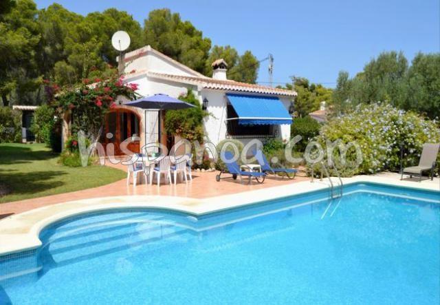 Location villa piscine privee Espagne Costa Blanca - villa 6 personnes
