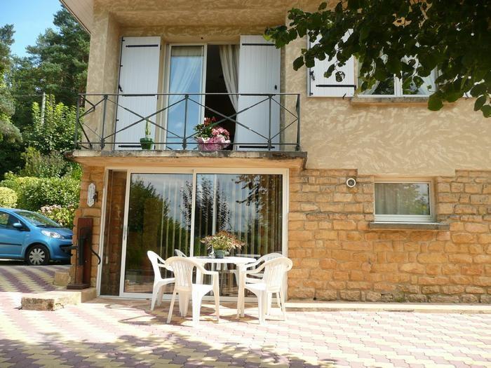 Location vacances Sarlat-la-Canéda -  Appartement - 4 personnes - Jardin - Photo N° 1