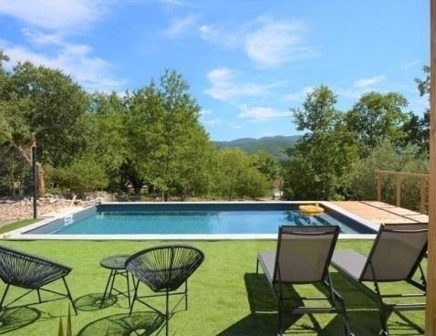 Location vacances Saint-Alban-Auriolles -  Maison - 8 personnes - Barbecue - Photo N° 1
