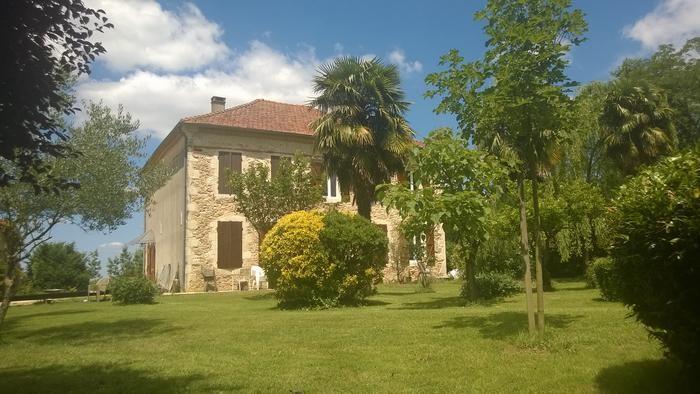 maison façade sud