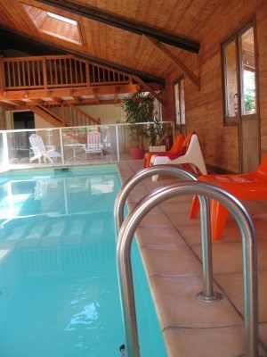 Lodging of Celaau, swimming pool interieure, sauna - Serraval