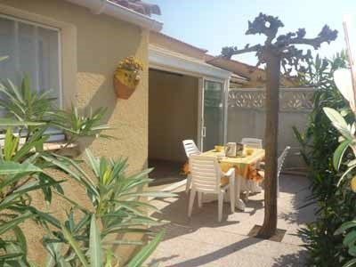 Villa 3 pièces mezzanine 6 couchages NARBONNE PLAGE