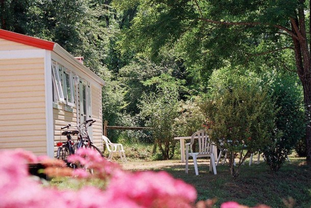 Camping Moulin du Périé - Mobil-Home A pour 4 pers