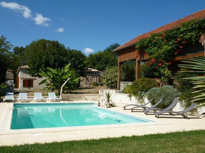 pour 10 pers. avec piscine privée, Villeréal