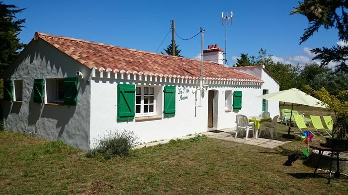 Holiday rentals Notre-Dame-de-Monts - House - 5 persons - BBQ - Photo N° 1