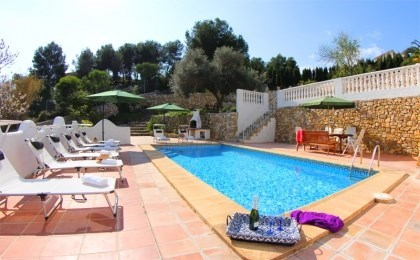Villa AB Verde - Agréable villa indépendante avec piscine privée située à environ 4 km de Calpe et à seulement 5 minu...