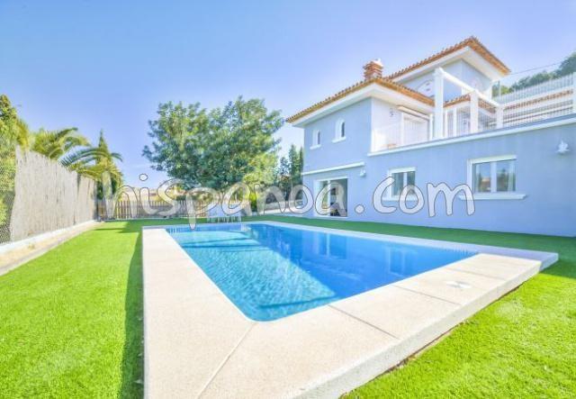 Splendide villa avec piscine privée en location à Calpe pour 9 pers |olgem