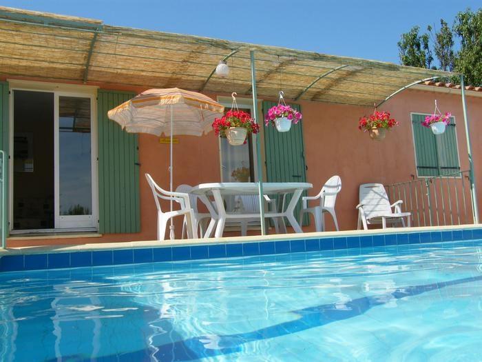 Privater Raum auf Schwimmbad