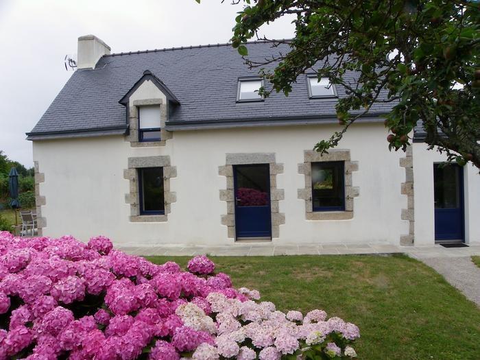 facade sud de la maison