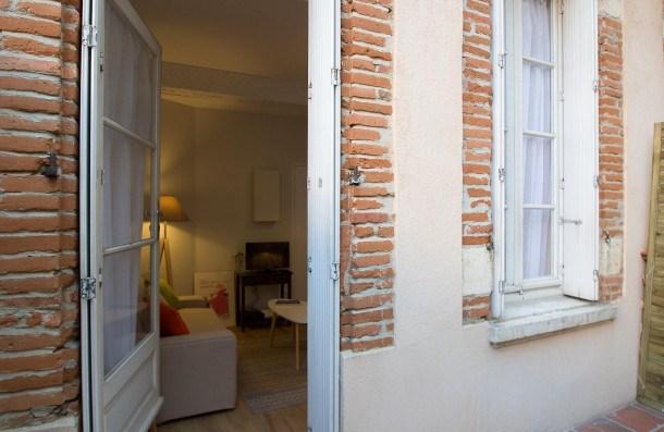 Location vacances Toulouse -  Appartement - 3 personnes - Terrasse - Photo N° 1