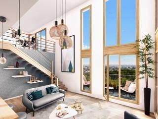 Vente Appartement 3 pièces 62,4m² Romainville