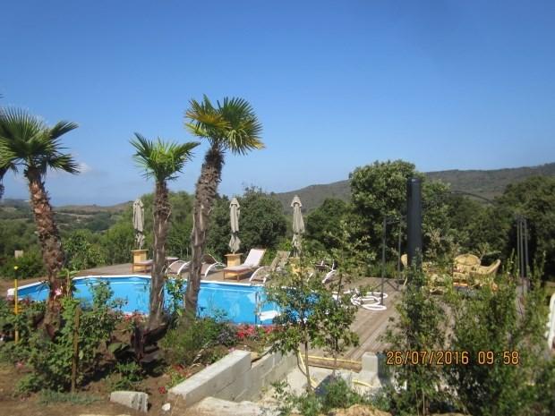 Location Mobil home  4 a 6 couchages proches mer sur terrain de 5000 m2 avec piscine - Sartene