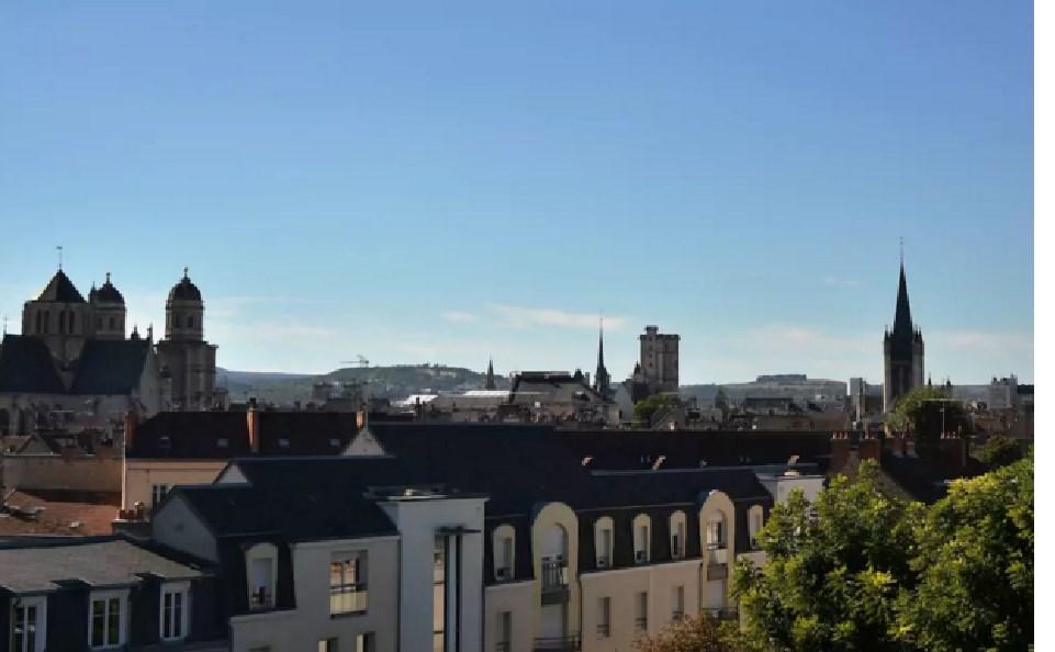vue de Dijon depuis l'appartement