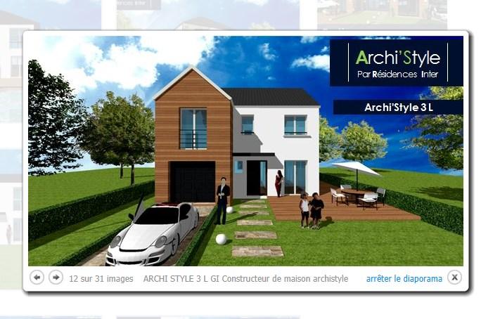 Maison  6 pièces + Terrain 228 m² Combs-la-Ville par MAISONS ARCHISTYLE GROUPE INTER