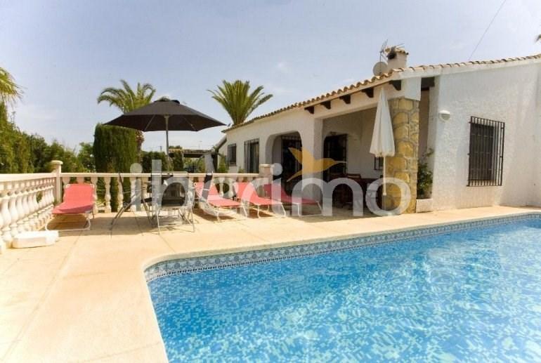 Villa avec piscine à Albir pour 6 personnes - 3 chambres