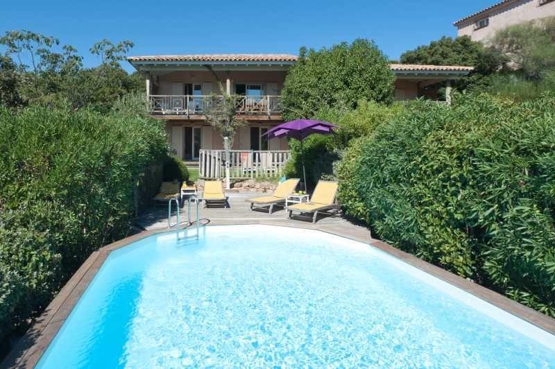 Grande Villa en bois en duplex de 150m², climatisée avec piscine privative et wifi gratuit