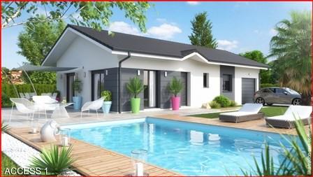 Maison  5 pièces + Terrain 800 m² Chambéry par MCA  MAISONS & CHALETS DES ALPES