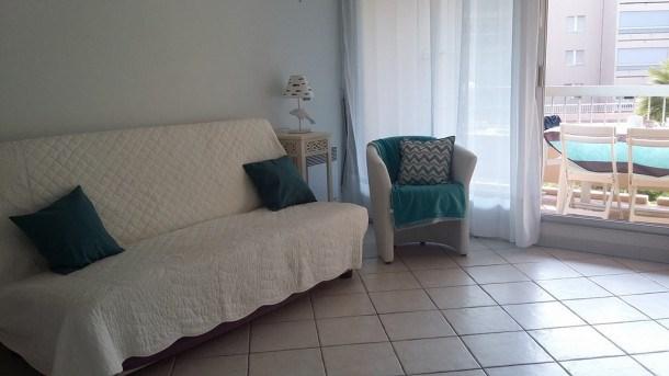T2 pour 4 personnes dans résidence avec piscine - Hyères Port