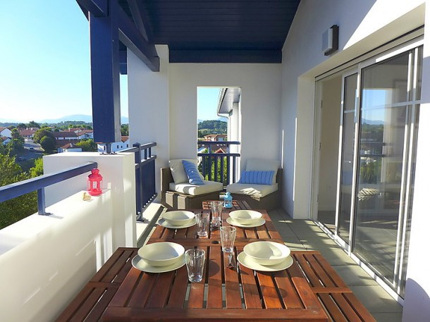 Location vacances Bidart -  Appartement - 6 personnes - Barbecue - Photo N° 1
