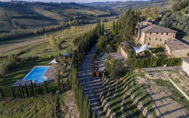 Villa Edera 14 - Prestigious villa nestled in the very heart of Chianti