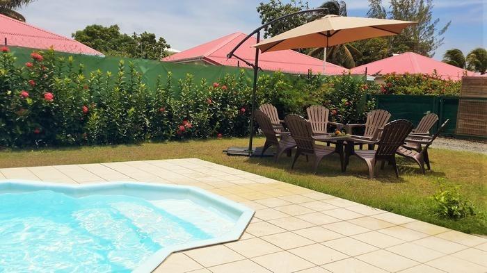 Villa pour 12 pers. avec piscine privée, Saint-François