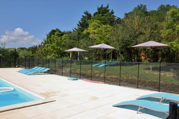Pool view Pyrenees, open spaces, country - Gaja-la-Selve