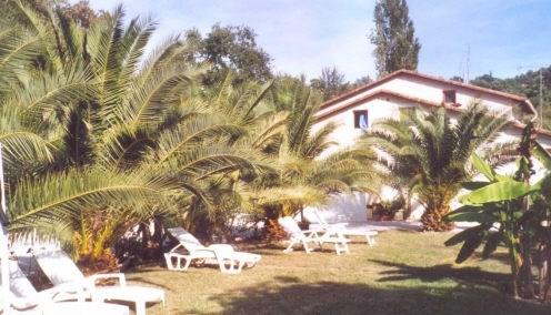 jardin commun - transats - repos