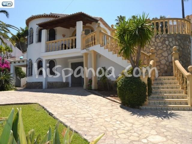 Holiday rentals Jávea/Xàbia - House - 8 persons - Garden - Photo N° 1