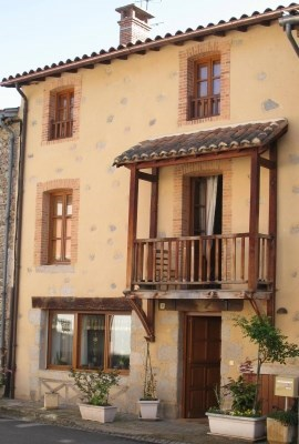 15th century town house in a medieval village - Chateldon
