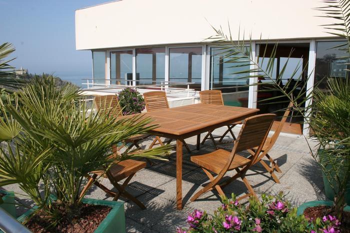 Location vacances Saint-Quay-Portrieux -  Appartement - 6 personnes - Salon de jardin - Photo N° 1