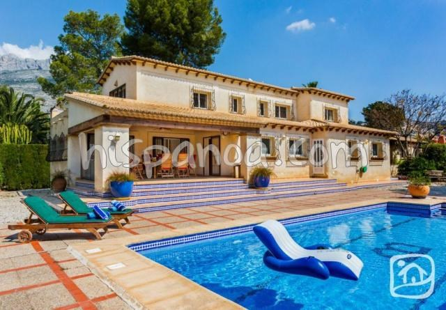 Holiday rentals Altea - House - 8 persons - BBQ - Photo N° 1