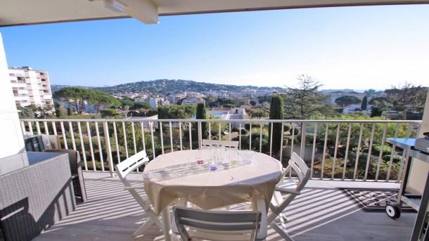 Appartement T2 - 4 personnes - Piscine et tennis résidence - WiFi - Aperçu mer - Sainte Maxime
