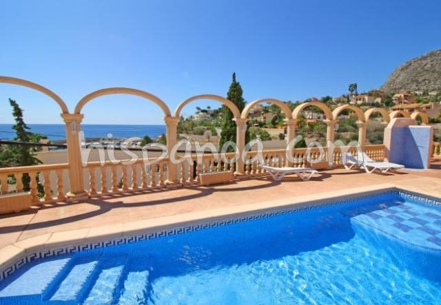 Apartment for 7 ppl. with pool, Calp