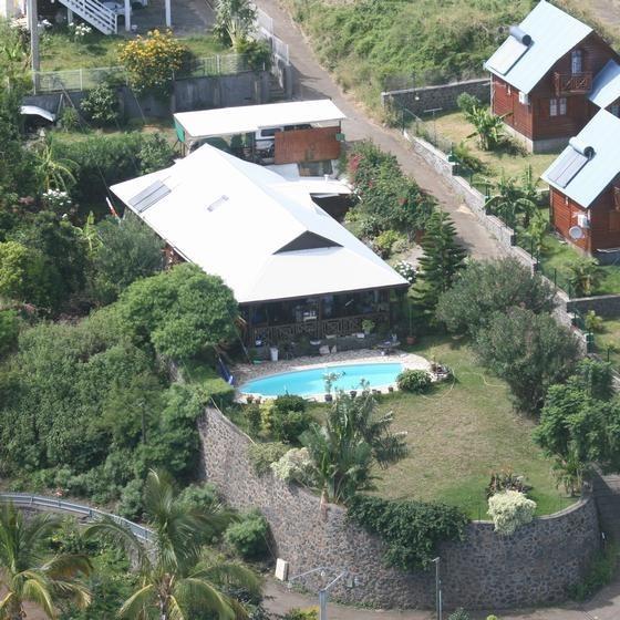 Villa pour 8 pers. avec piscine privée, Saint-Leu