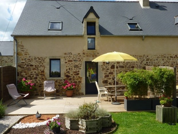 Location vacances Magneville -  Gite - 5 personnes - Barbecue - Photo N° 1