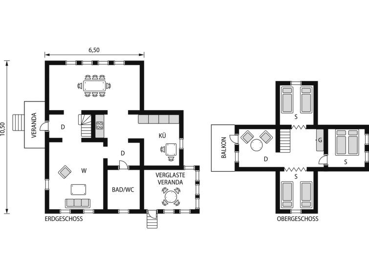 Maison pour 6 à Kyrkhult