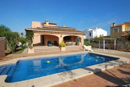 Location villa avec piscine à Dénia Costa Blanca proche mer |028