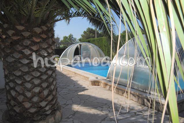 location à Ametlla de Mar villa avec piscine privée à 2.5 km de la mer |arn