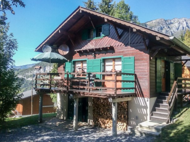 Location vacances Samoëns -  Maison - 6 personnes - Barbecue - Photo N° 1