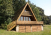 Location chalet vacances étang 5 hectares yonne bourgogne