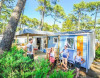 Stacaravan - Camping Le Vieux Port ***** - Messanges