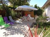 Très agréable maison avec jardin au coeur du village du Cap-Ferret