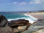 A 50 m de la plage de Tenutella,  au calme avec terrasse de  46 pers  dans une pinède de 5000 m² .