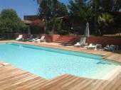 Minivilla 45 p. avec piscine chauffée  proche Porto Vecchio
