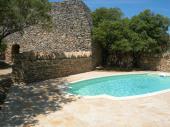 Maison Gordes et Borie avec piscine chauffée