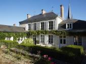 Demeure de charme, Bourgogne, vallée de la Loire, 19 pers, piscine chauffée