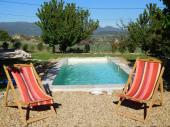 LUBERON, charmant CABANON provençal 2 personnes avec PISCINE privée