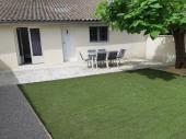 climatisé avec jardin, garage et parking