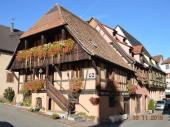 Gite *** de charme, centre Kaysersberg, typiquement alsacien.